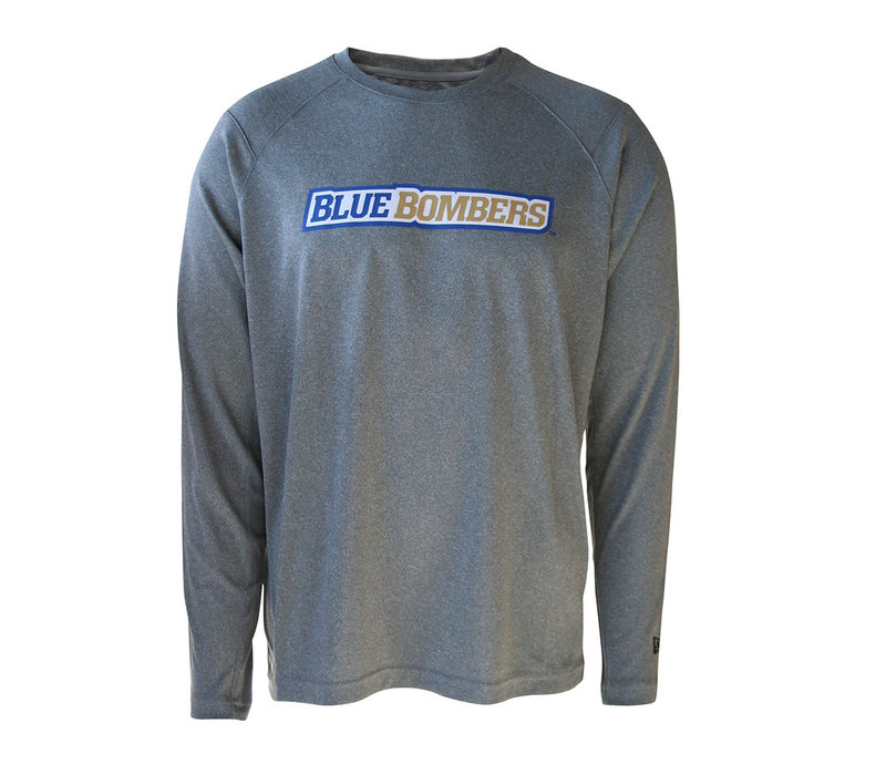 Sideline Grey Wordmark L/S