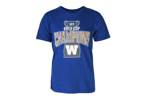 Bulletin 107th Grey Cup Champions Tee
