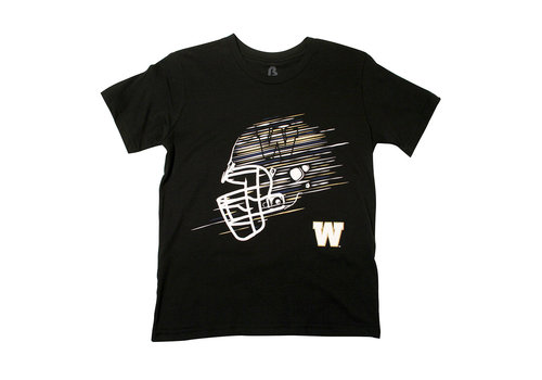 Bulletin Youth Black Speed Helmet Tee