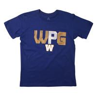 Youth Wavy WPG W Logo Tee