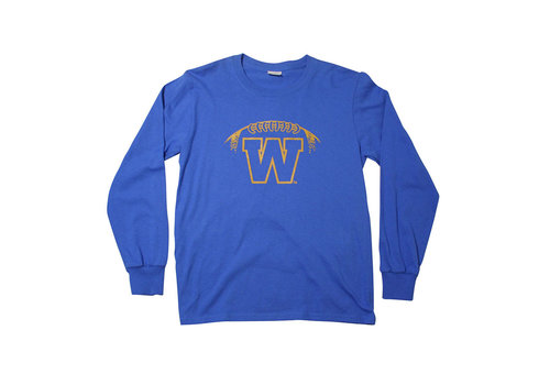ESA Yth Stylized Football Logo L/S