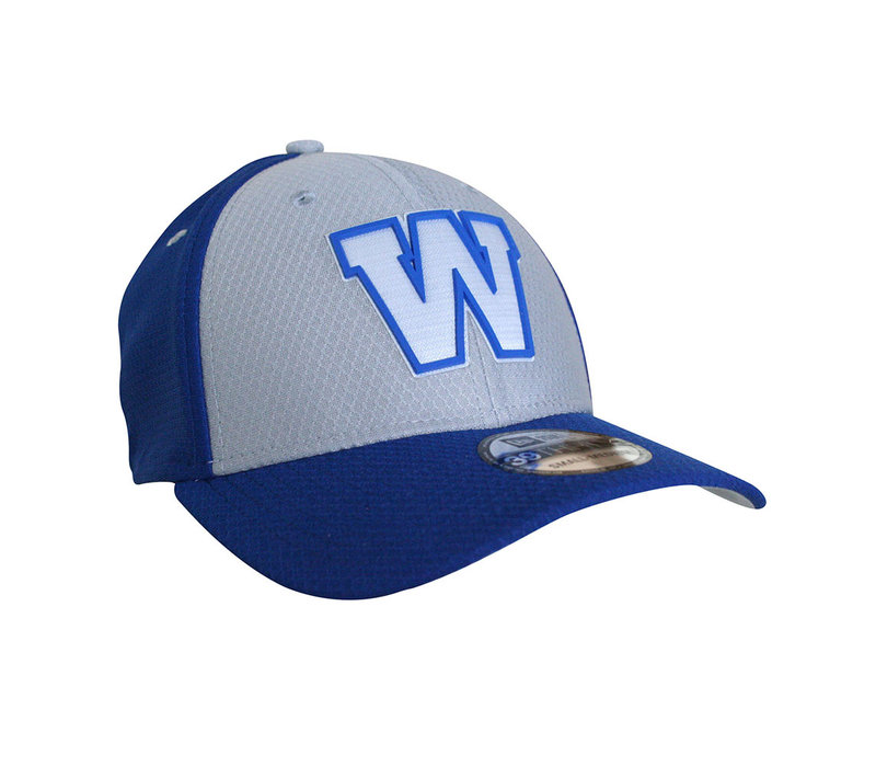 39Thirty Sideline Grey and Royal Cap
