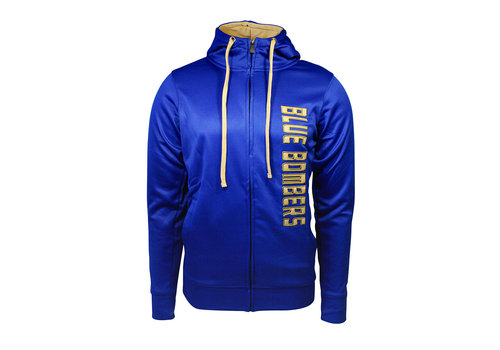 New Era Mens Royal Poly Fleece Zip up