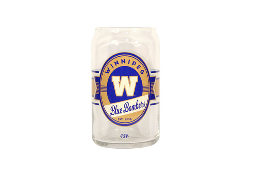 The Sports Vault 16oz  Glass Can  Nostalgia Label