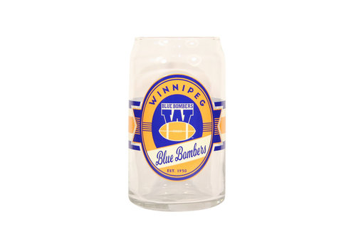 The Sports Vault 16oz  Glass Can Vintage Label