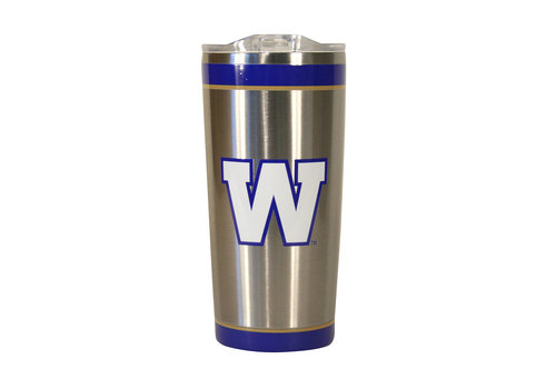 The Sports Vault 20oz Primary W Stainless Tumbler