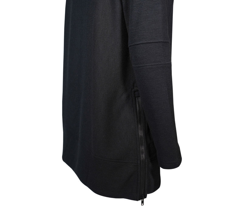 Womens Embroidery Black Lana Sweater