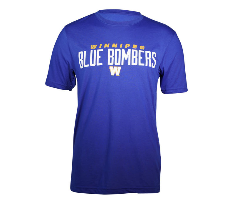 Royal Blue Bombers Over W Tee