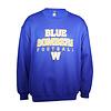 Blue Bombers Brand Royal Blue Bombers Football Crewneck Sweatshirt