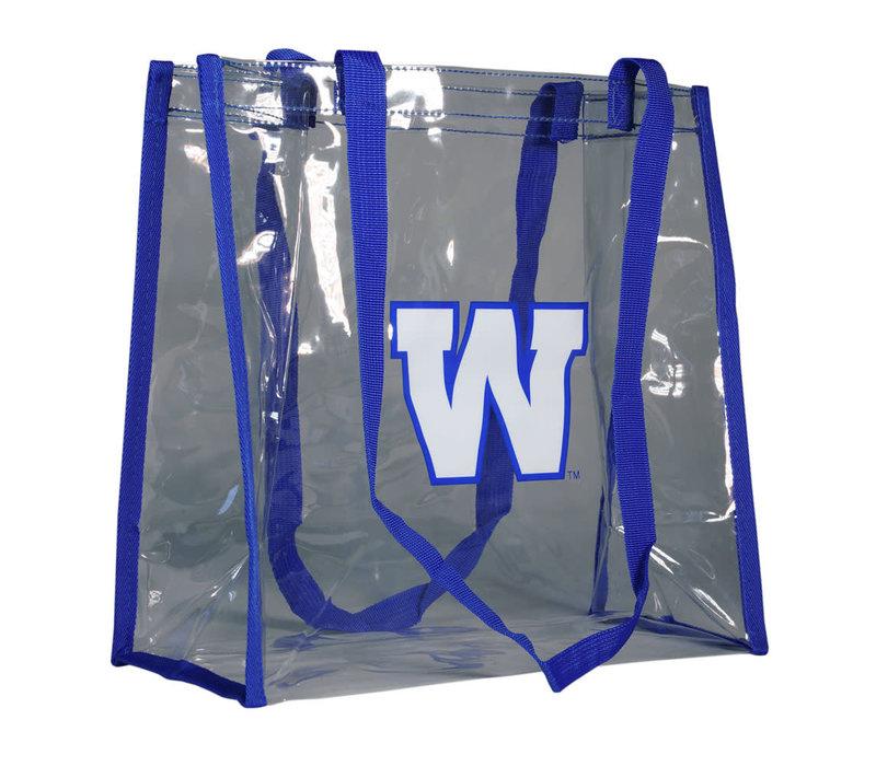 Clear Plastic Reusable Bag
