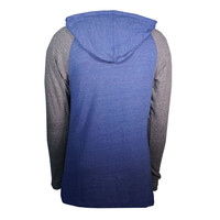 Pullover Henley Hooded L/S