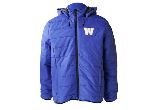 Blue Bombers Brand Primary W Puffer jacket