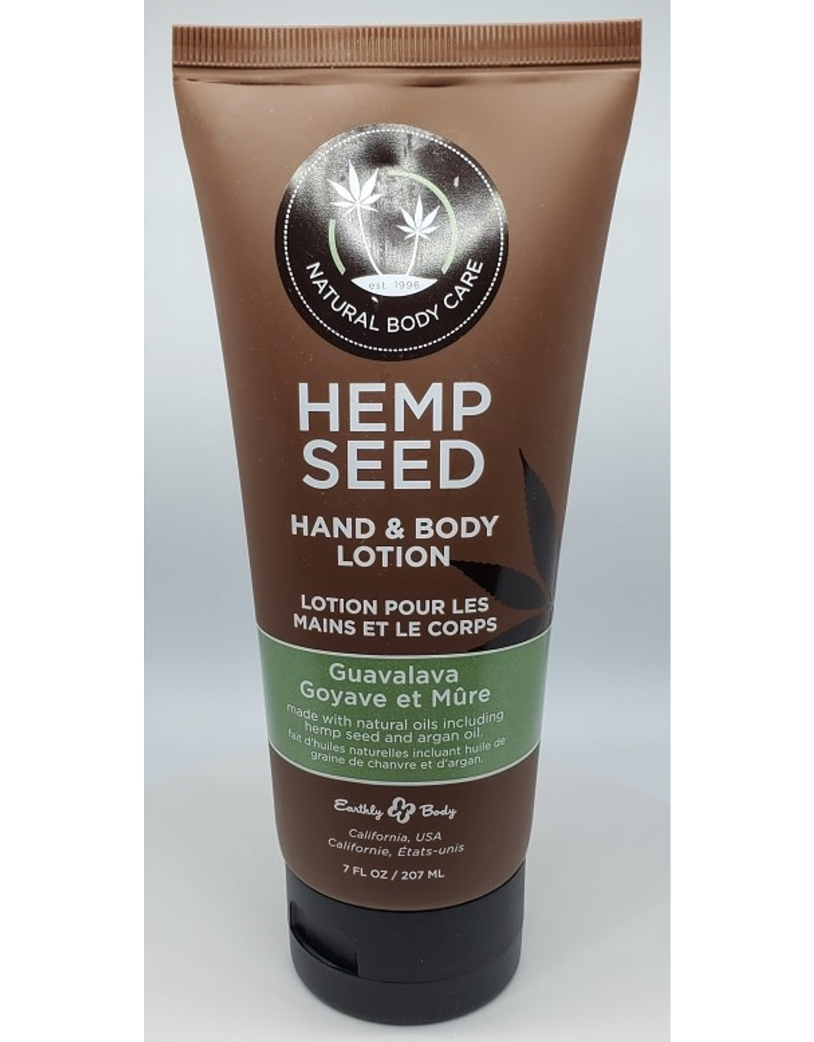 Earthly Body Hemp Seed Massage Lotion - 2 oz Lavender