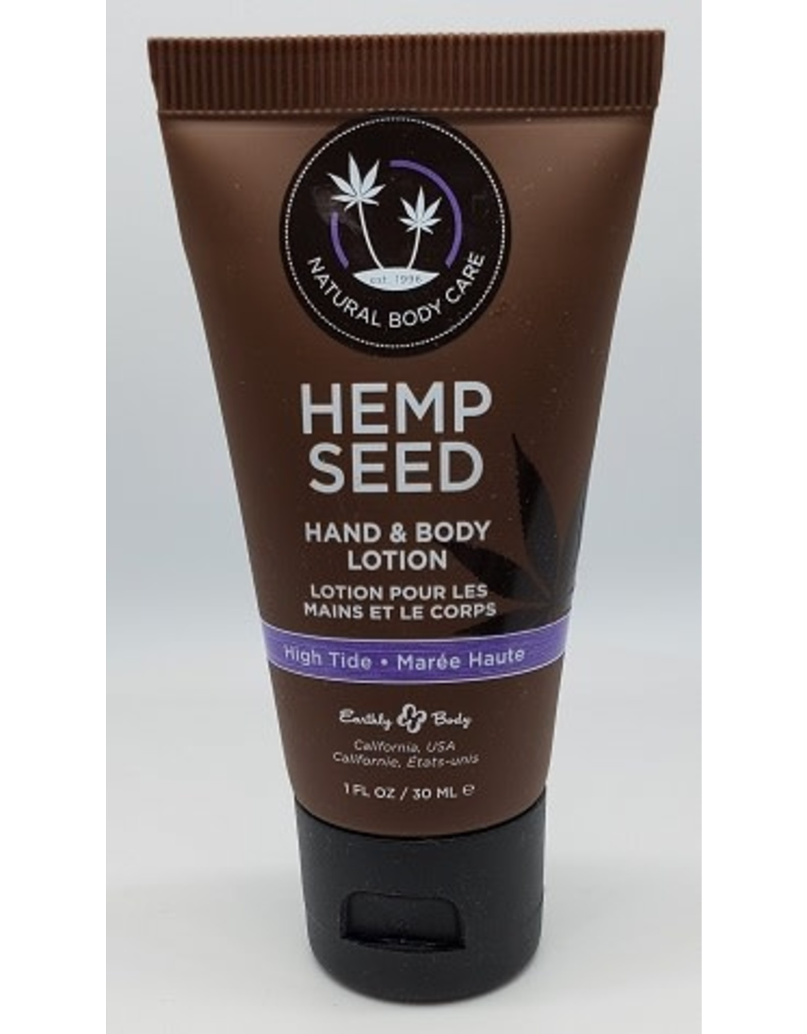 Earthly Body Hemp Seed Massage Lotion Guavalava 8oz