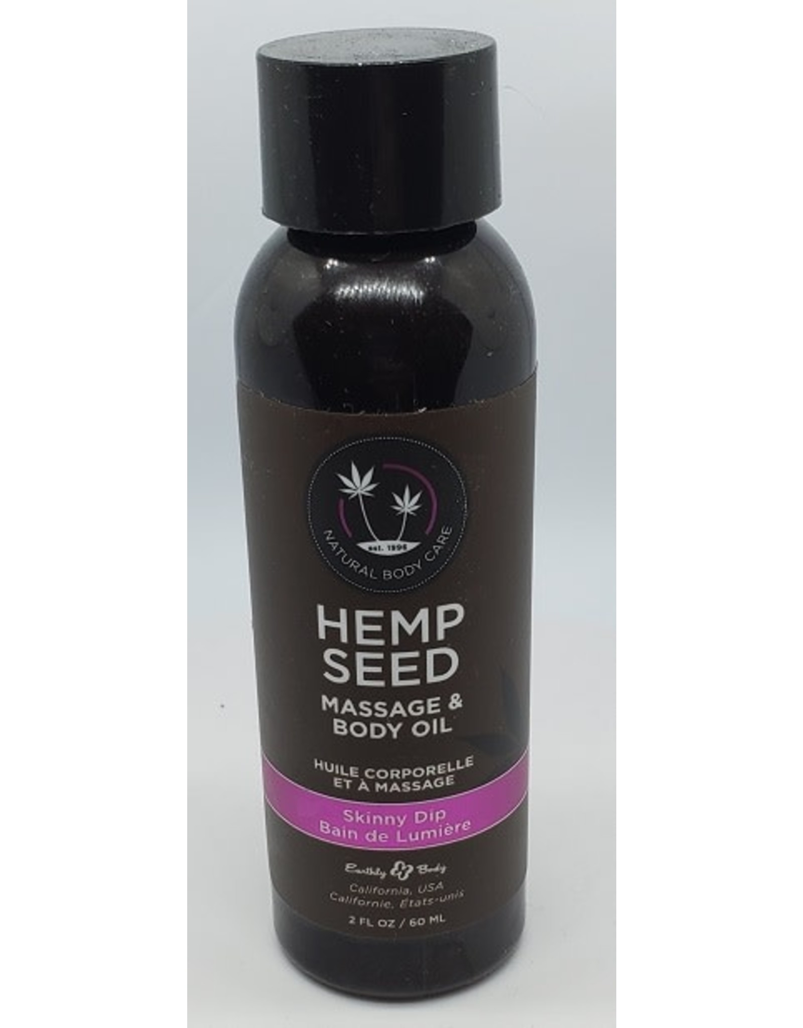 Shop Hemp Seed Massage & Body Oil Naked in the Woods 8 oz