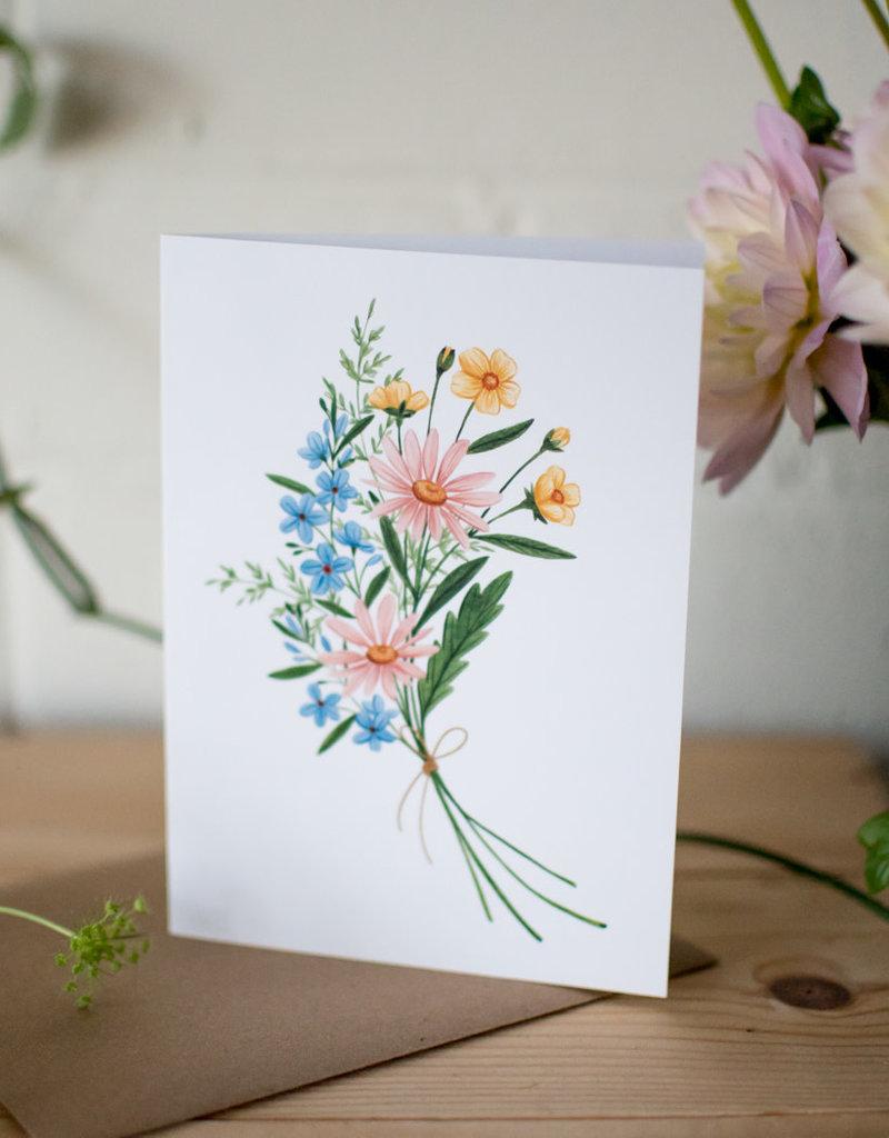Joannie Houle Bouquet Pastel