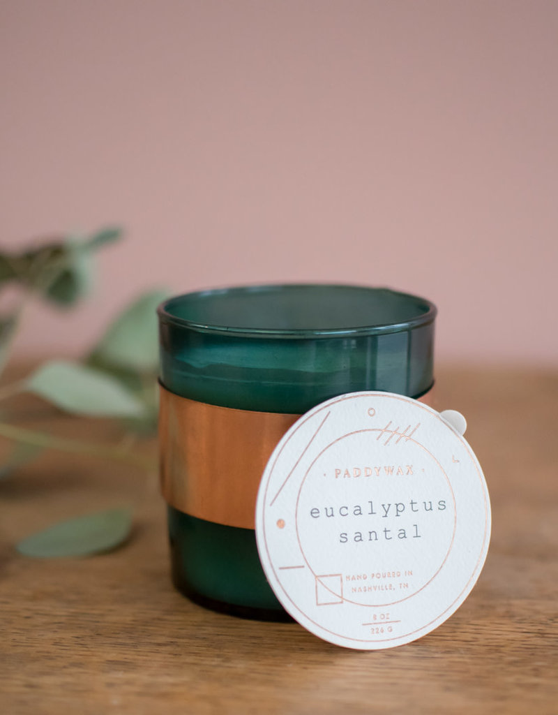 Paddywax Paddywax Soy Candle - Eucalyptus Santal