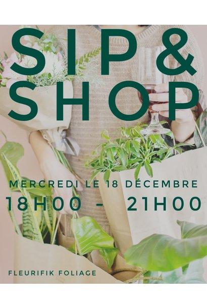 Sip & Shop - December 18 2019