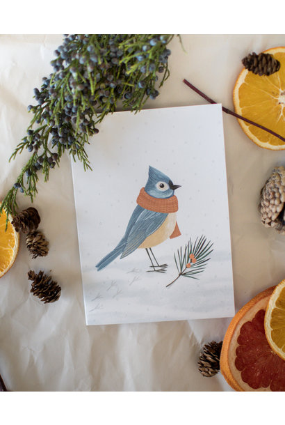 Oiseau D'Hiver  - Joannie Houle