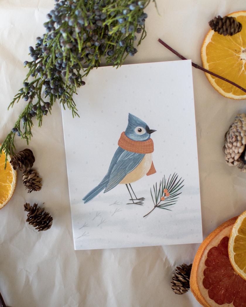 Oiseau D'Hiver  - Joannie Houle-1
