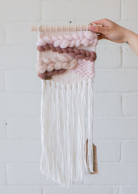 Weavings Pink 'Wanda' - Blanc Laine