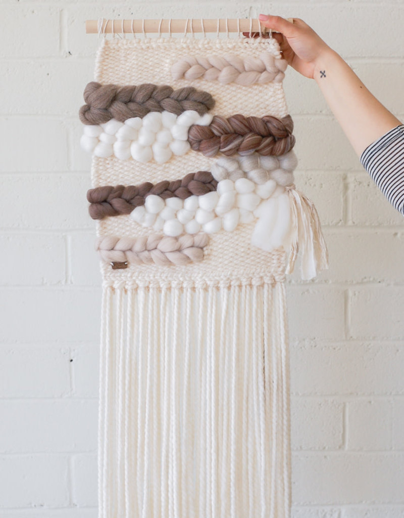 Weavings Natural Tones 'Anne' - Blanc Laine