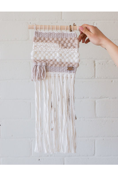 Weavings Pink 'Loretta' - Blanc Laine