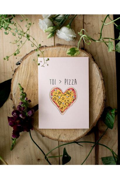 Pizza - Fleur maison
