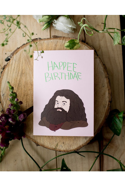 Happee Birthdae - Fleur maison