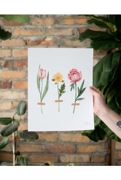 Trois Fleurs - Joannie Houle