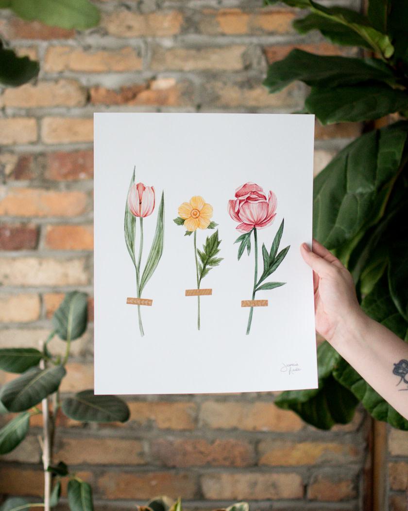 Trois Fleurs - Joannie Houle-1
