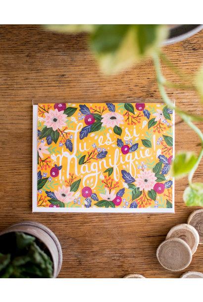 Floral Magnifique - WildBerry Studio