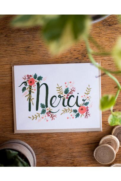 Floral Merci - WildBerry Studio