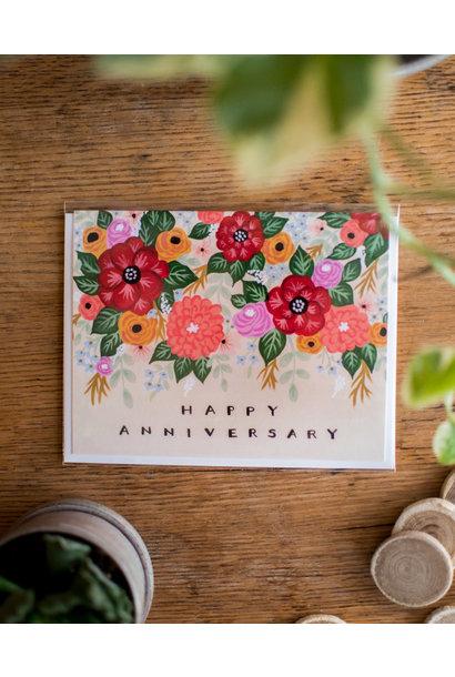 Wildberry - Fleurifik Foliage - Happy Anniversary