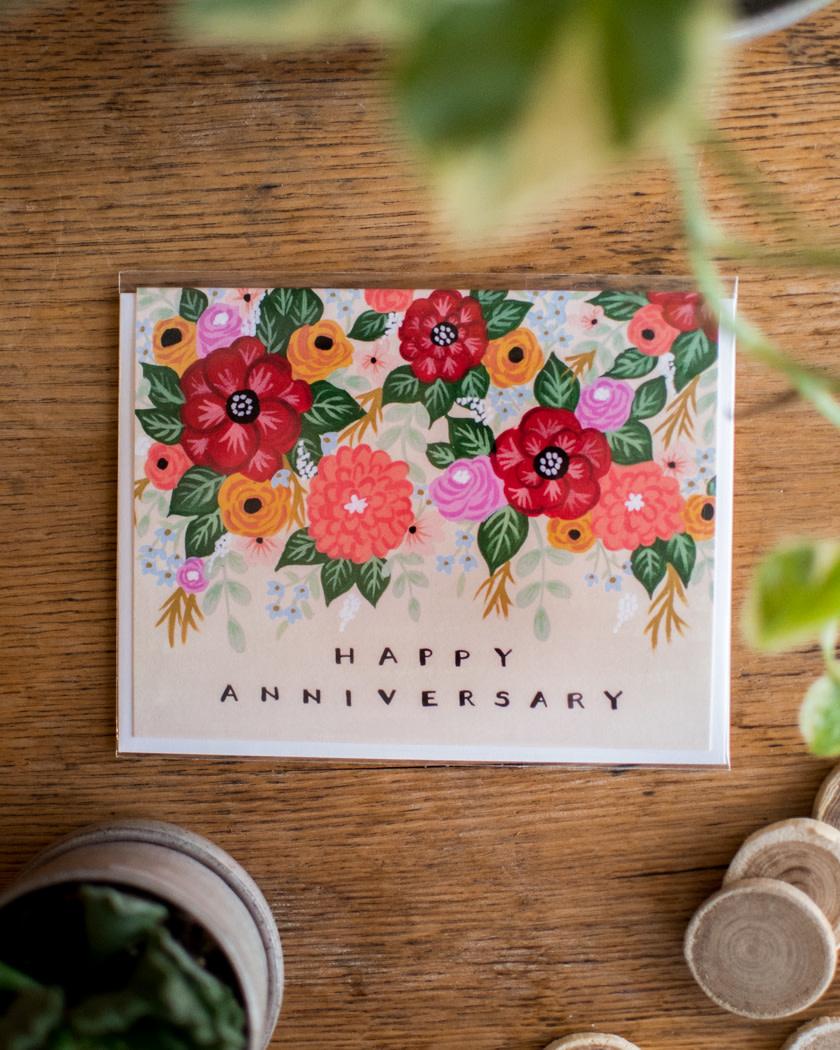 Wildberry - Fleurifik Foliage - Happy Anniversary-1