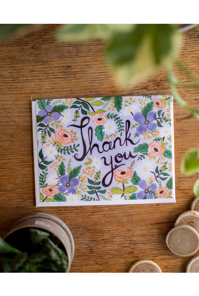 Pansy Thank you - WildBerry Studio