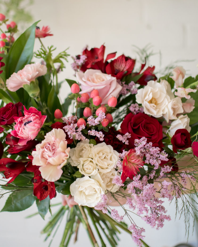Queen of Hearts - Medium Wrapped Bouquet-3