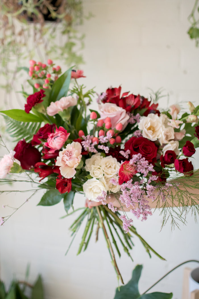 Queen of Hearts - Medium Wrapped Bouquet-2