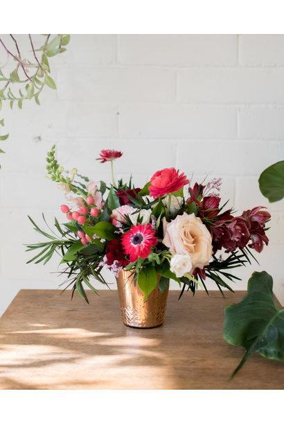 Queen of Hearts - Vase Arrangement