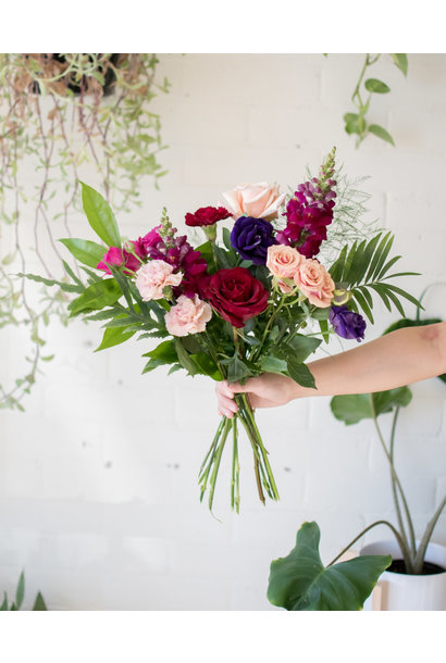 Lilac Wine - Small Wrapped Bouquet