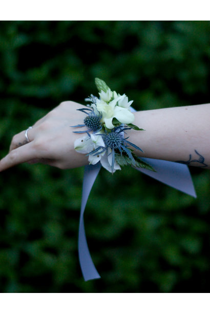 Powder Blue Corsage
