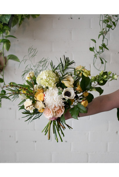 Princess Buttercup - Small Wrapped Bouquet