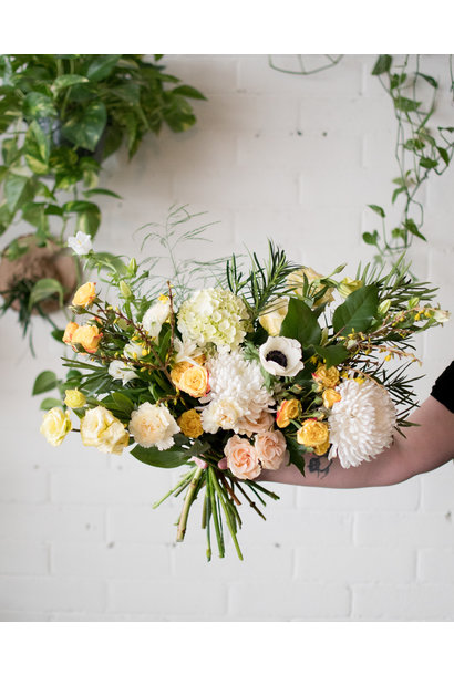 Princess Buttercup - Medium Wrapped Bouquet