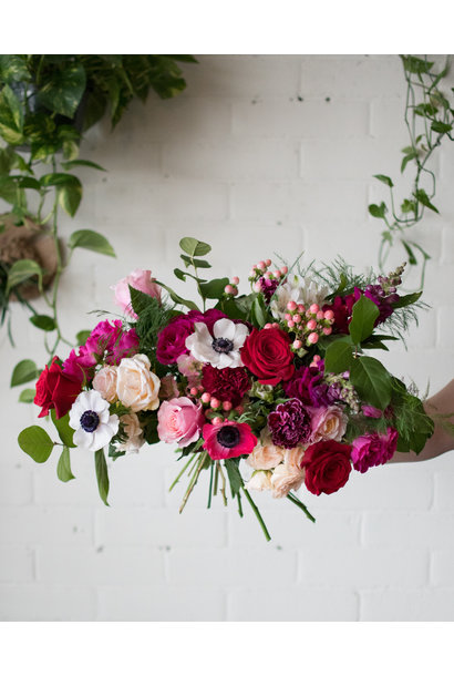 Berry Cherry - Large Wrapped Bouquet