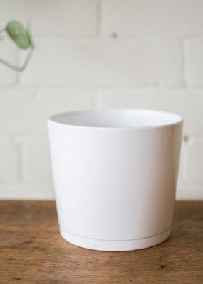 Alaska - Cache Pot - White