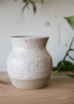 Studio Laroche Studio Laroche - Vase - White & Natural