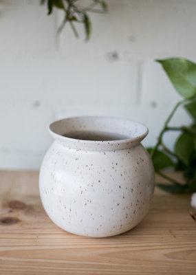 Studio Laroche Studio Laroche - Vase - White & Round