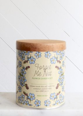 Modern Sprout Waxed Planter - Forget-Me-Not