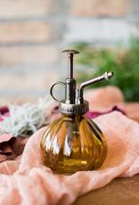 Glass Plant Mister - Vintage Amber