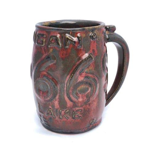 Short License Plate Mug